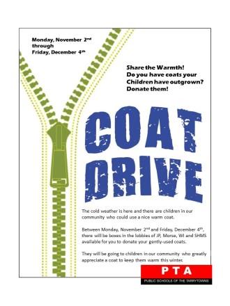 Coat Drive 2015