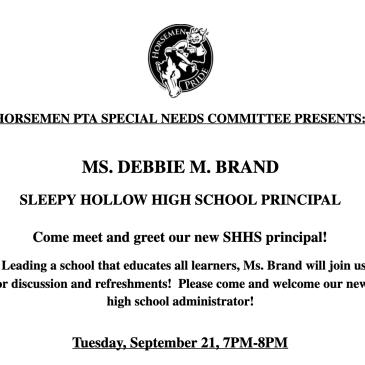 special needs committee horsemen pta principal brand